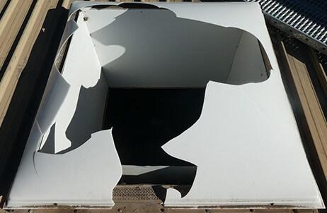 Safety Alert on Fragile Roofing